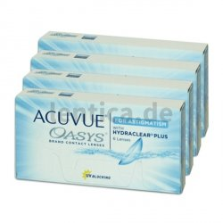 Acuvue oasys for Astigmatism 4 x 6 Stck.