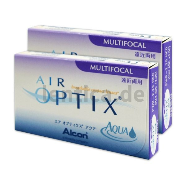 Air optix aqua multifocal 2 x 6 Stck.