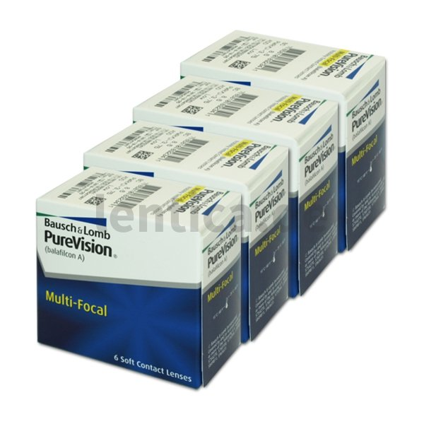 PureVision Multifocal  4 x 6