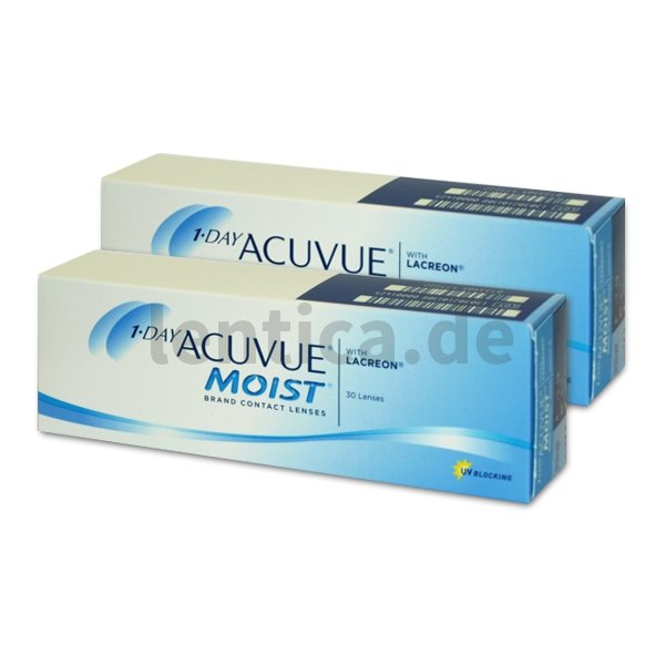 1-Day Acuvue Moist , 2 x 30 Stck.