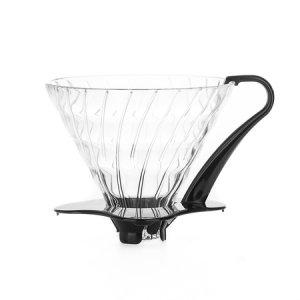 Hario szklany Drip  V60-03 - Czarny