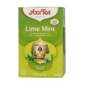 Yogi Tea - Lime Mint - Herbata 17 Torebek