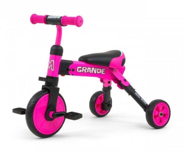 Rowerek 2w1 Grande Pink