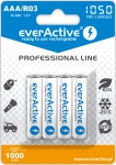 Akumulatorki everActive R03/AAA Ni-MH 1050 mAh ready to use - 4 sztuki