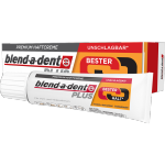 Blend-a-dent PLUS Super MOCNY klej do protez BESTER HALT 40g | smak neutralny