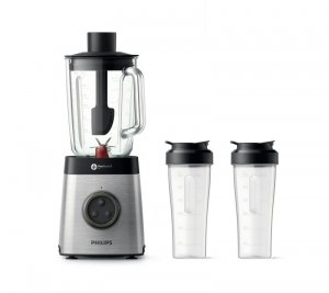 Blender kielichowy Philips HR3655/00 (1400W; kolor inox)