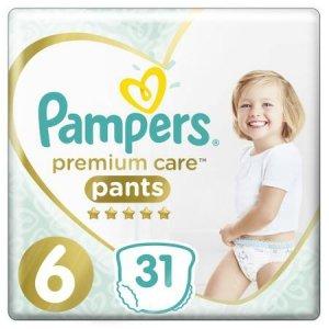 Pampers Pieluchomajtki Pants Premium Care VP 6 (15+kg); 31