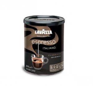 Lavazza Caffe Espresso kawa mielona 250g puszka