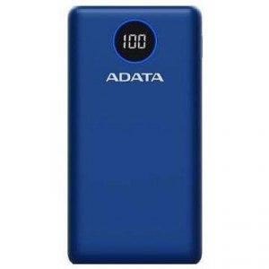 ADATA P20000QCD bank mocy Litowo-polimerowy (LiPo) 20000 mAh Niebieski