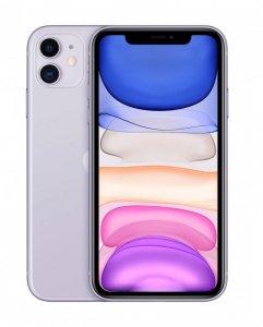 Apple iPhone 11 15,5 cm (6.1) Dual SIM iOS 14 4G 128 GB Fioletowy