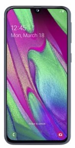 Smartfon Samsung Galaxy A40 4/64GB 5,9 Super AMOLED 2340x1080 3100mAh Dual-SIM 4G Black