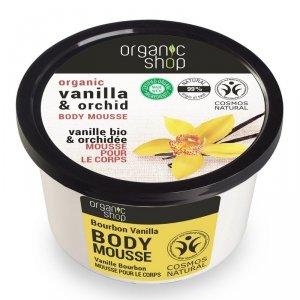 Organic Shop Mus do ciała Wanilia Bourbon Orchidea 250ml