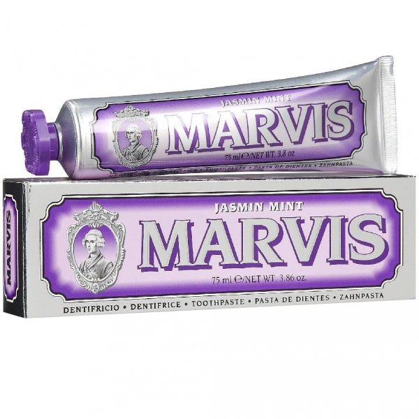 Marvis Jasmin Mint - Jaśminowa pasta do zębów w stylu retro 75ml
