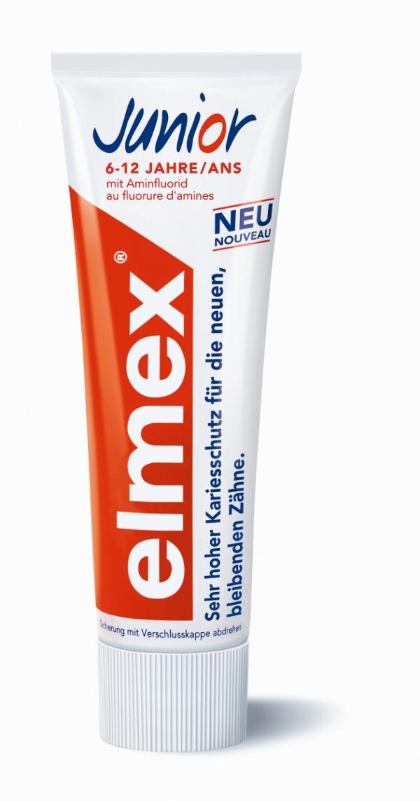 Pasta do zębów elmex Junior 7-12 LAT pojemność 75ml