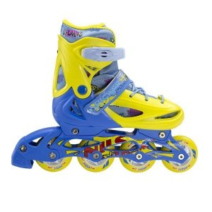 Rolki Nils Extreme NH1105 A 3w1 Yellow/blue