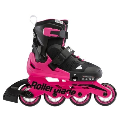 Rolki Rollerblade Microblade (black / neon pink) 2021