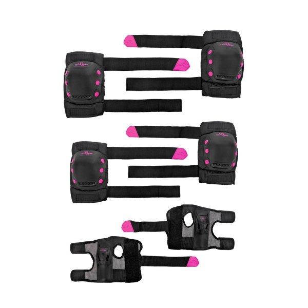 Ochraniacze Raven Dexard (black/pink)