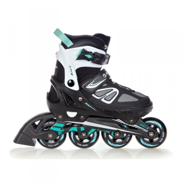 Rolki Raven Advance (black/mint)