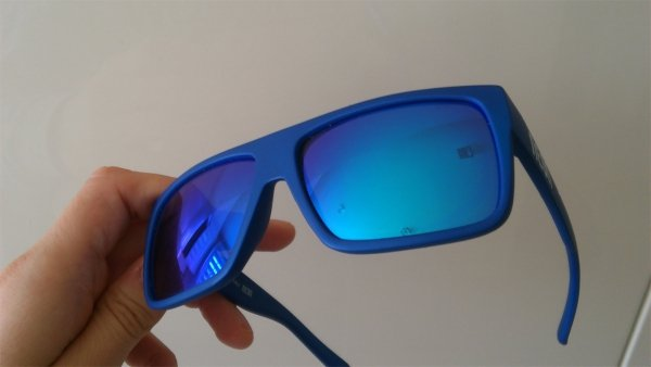 Okulary  Neon Ride (black/blue)
