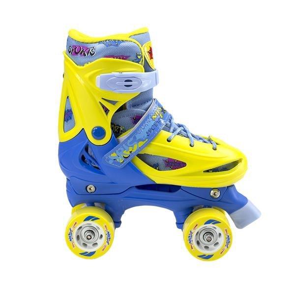 Rolki Nils Extreme NH1105 A 3w1 Yellow/blue