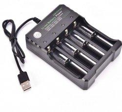 Ładowarka procesorowa AA AAA 18650 LR6 LR3 USB