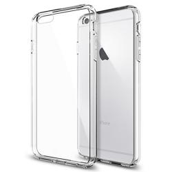 Etui iPhone 6Plus Crystal Case Poliwęglan + szkło hartowane
