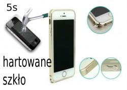 Ramka Bumper case do iPhone 5, 5s ALU GOLD