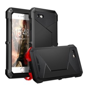 Pancerne Etui obudowa iPhone 7 Apple Gorilla GlaSS Czarna