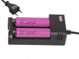 Procesorowa ładowarka z inykatorem + 2 X 18650 SAMSUNG 3500mAh