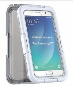 Obudowa biała etui wodoodporna IP68 Samsung S7 Edge