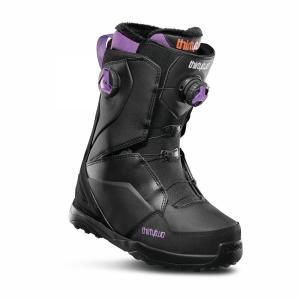 Buty snowboardowe ThirtyTwo Lashed Double BOA Wmn (black) 2020