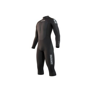Pianka Mystic Brand 3/2 Longarm Short Leg Back Zip (black) 2021