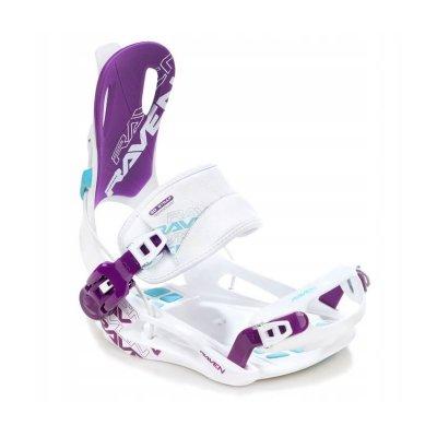 Wiązania snowboardowe Raven FT270 (white/blue/violet) 2021