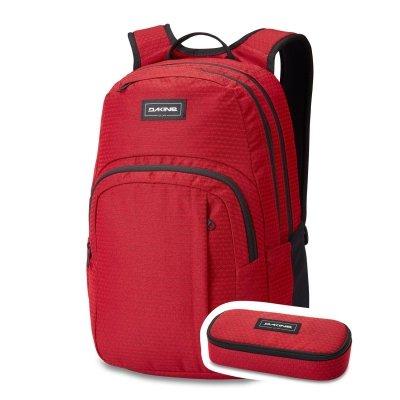 Plecak Dakine Campus M 25l (crimson red) 2020 + piórnik