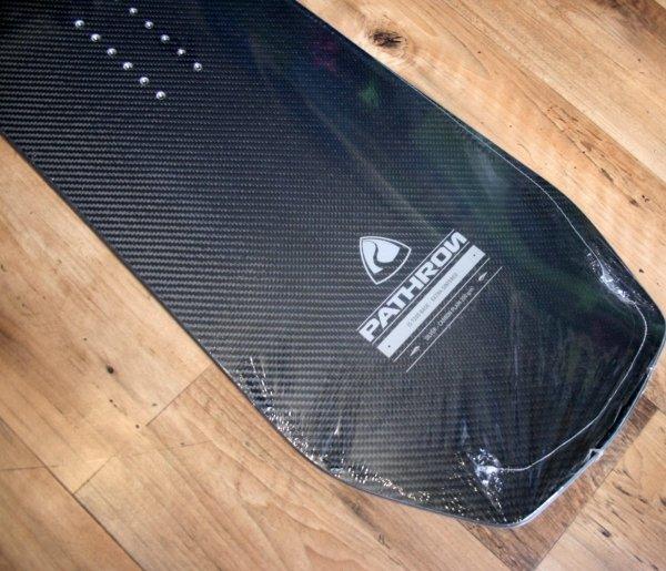 Deska snowboardowa Pathron Carbon Silver 2019