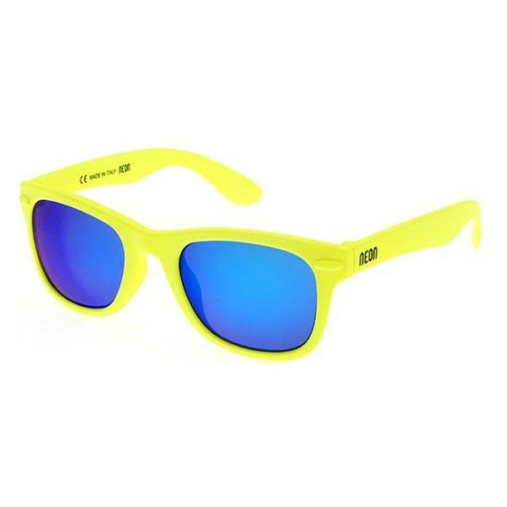 Neon Happy (yellow/blue)