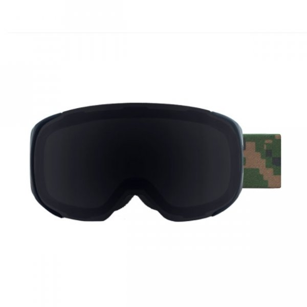 gogle tripout steez digital camo z szybą black polarized