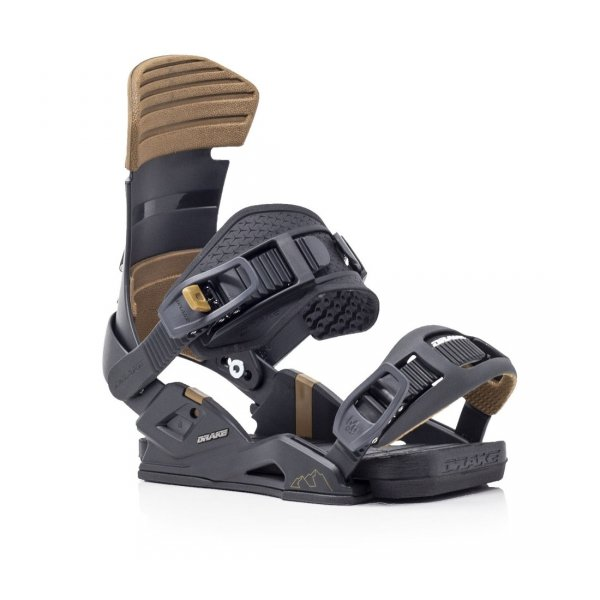 Wiązania snowboardowe Drake Reload (black) 2021