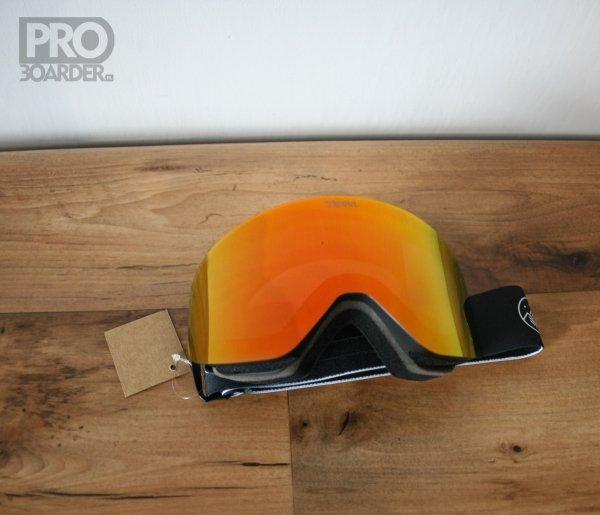 Gogle Tripout Racer Black (orange fire) 2020