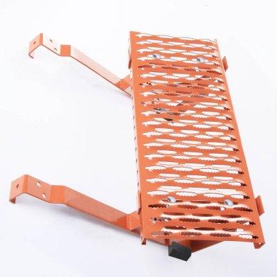 Dachtritt 120 cm Komplett für Dachziegel / Dachpfanne zum Einhängen [Ziegelrot]