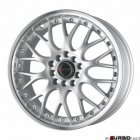 Drag Wheels DR19 Silver 15x7 4x100/114,3 ET40