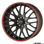 Tenzo-R Type-M v1 Black/Red 19x8,5 5x114,3 ET17