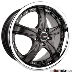 Drag Wheels DR15 Gun Metal 17x7 5x114,3 ET40