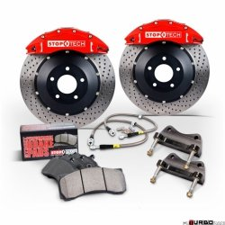 Stoptech Performance Big Brake Kit 3BX BBK 2PC ROTOR, REAR AUD RS4'07 355X32 ST40/10