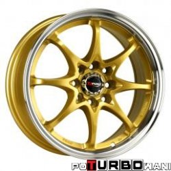 Drag Wheels DR16 7x16 5x114,3 ET40 otw. 73