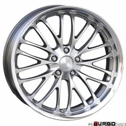 Breyton RACE CS 8,5x20 5x120 Hyper Silver with stainless steel lip