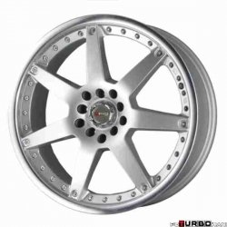 Drag Wheels DR10 Silver 18x7 4x100/114,3 ET40
