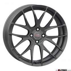 Breyton RACE GTS-R MINI 7x18 4x100 Matt Gun Metal/ Matt Black