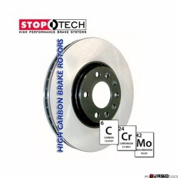 StopTech 125 Hi-Carbon Plain tarcza hamulcowa GM 125.62088