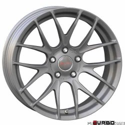 Breyton RACE GTS-R 7,5x18 5x120 Matt Gun Metal / Matt Black